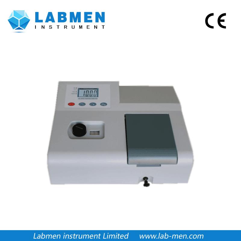 Digital Display Visible Spectrophotometer in 350-1020 Nm