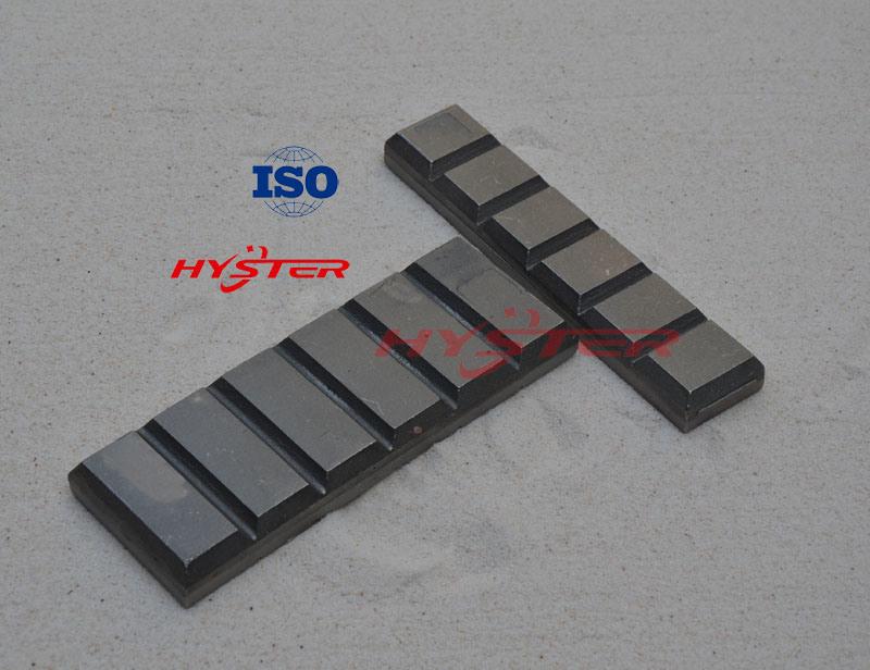 High Chrome Cast Iron Wear Chocky Bars CB60