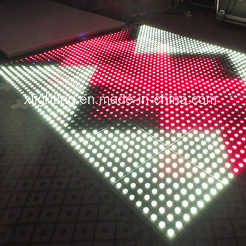 Strongly Sensitive Interactive Video LED Dance Floor
