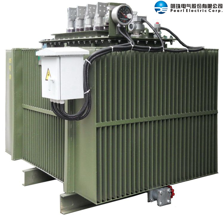 Oil-Immersed Distribution Transformer with Corrugated Fins