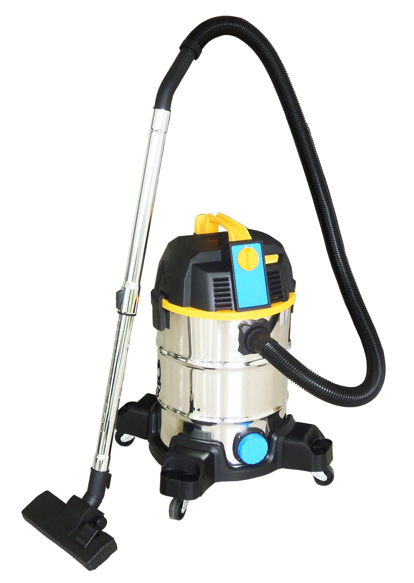 306-20/25L Stainless Steel Tank Wet Dry Water Dust Vacuum Cleaner with or Without Socket