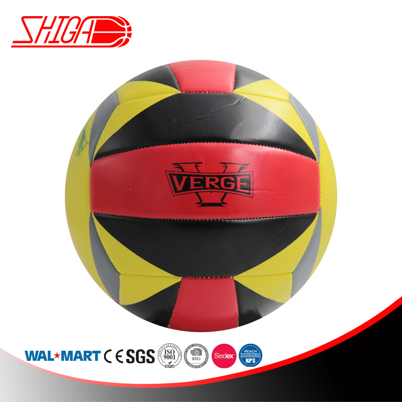 Soft PVC Machine Stitched Volleyball for Promotion
