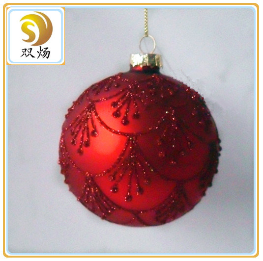 Christmas Glass Ball for Decoration