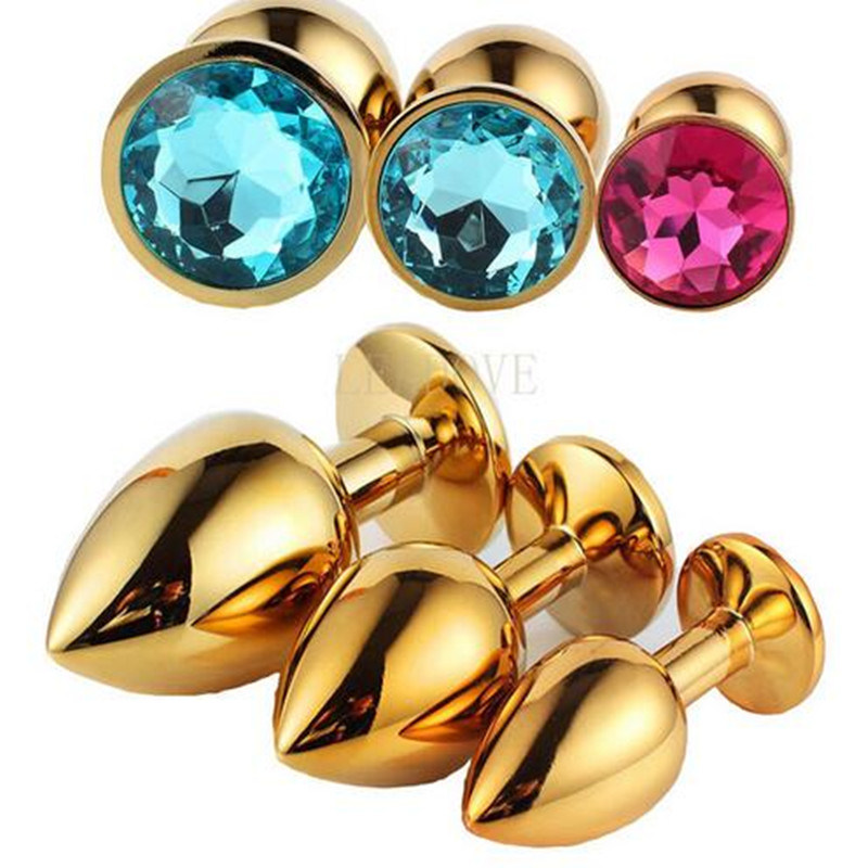 1PCS/Lot Hot Sell Small Size Stainless Metal jewelry Anal Butt Plugs Adult Anal Toys Backyard Insert Steel Sex Products GS0302