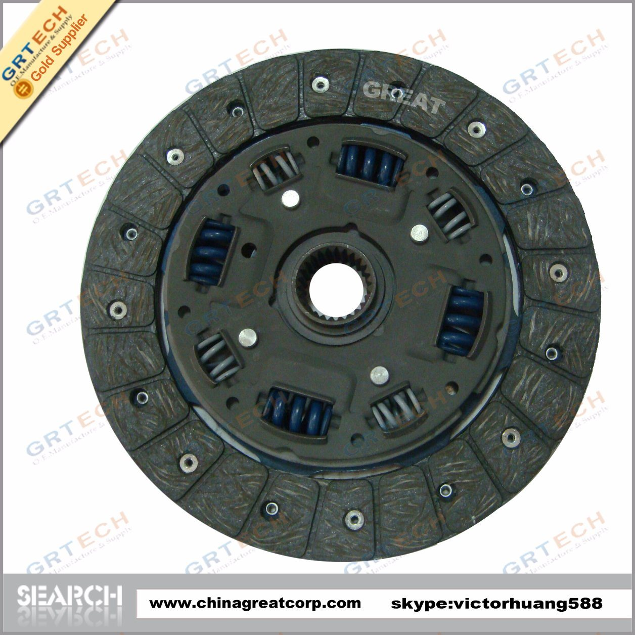 Auto Clutch Kits and Clutch Pressure Plate Clutch Discs for Paken
