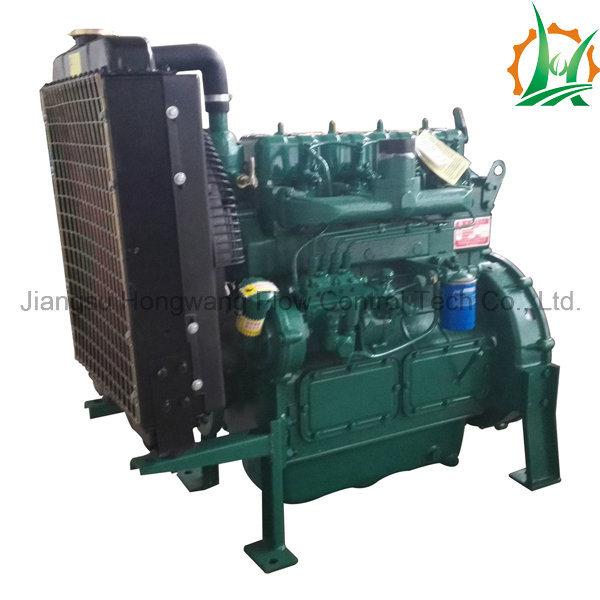 Trash Dewatering Lift Water Diesel Rotor Pump Trailer