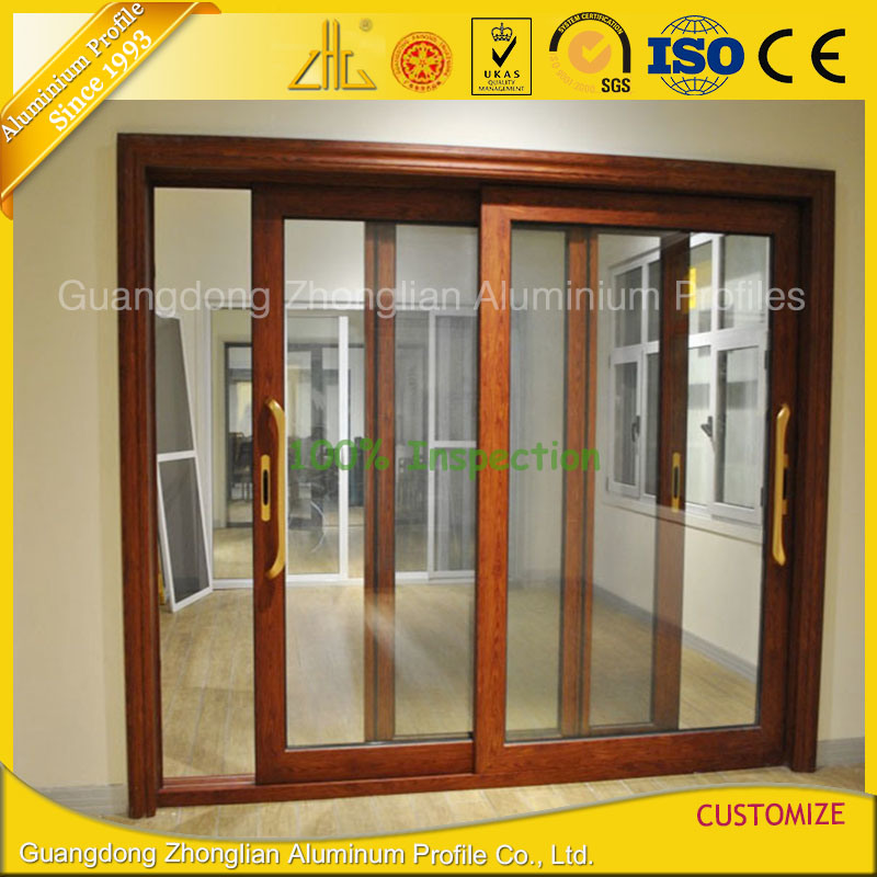 Factory Aluminum Window and Door Frame with Thermal Break