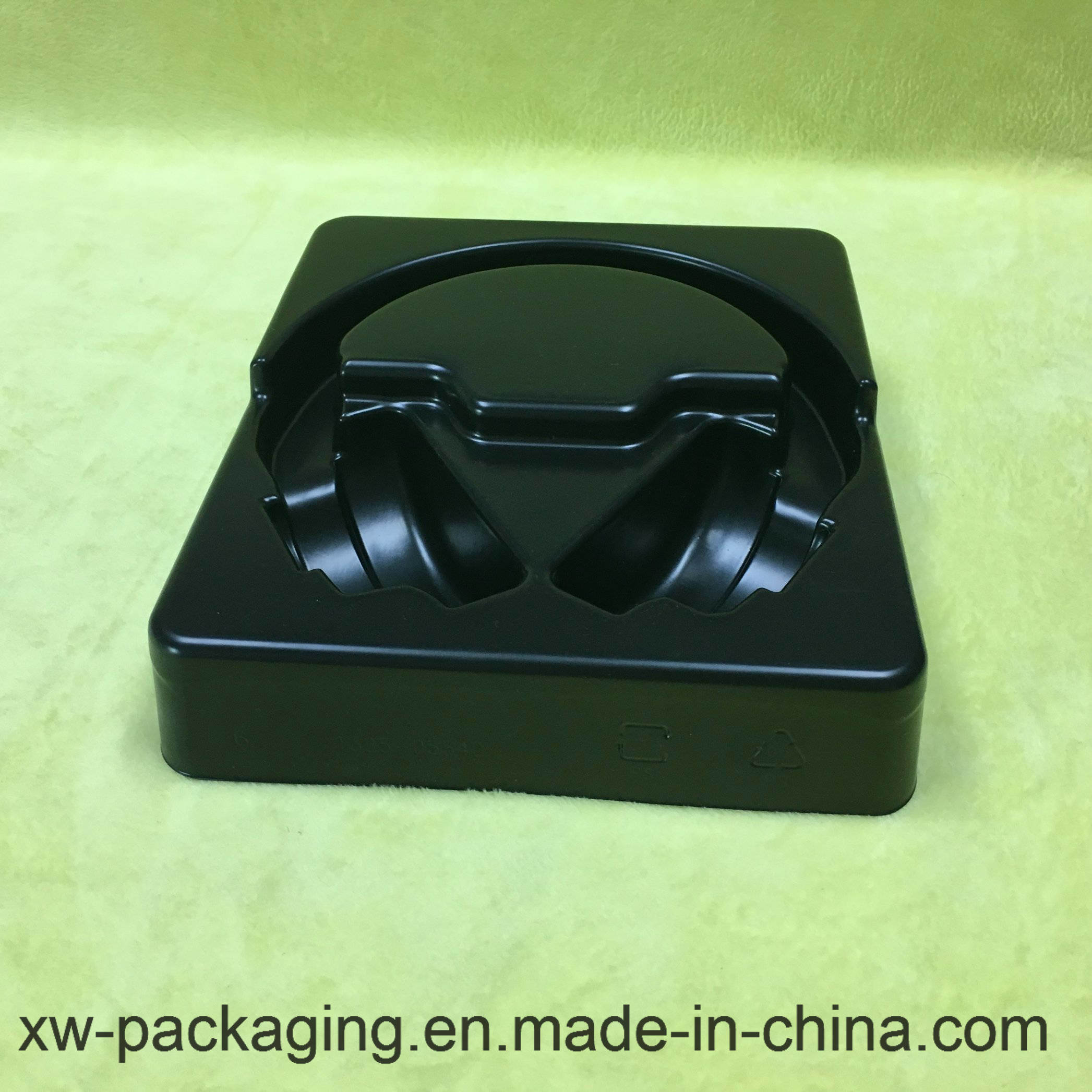 High Quality Headset Using PP/PVC Blister Tray in Black