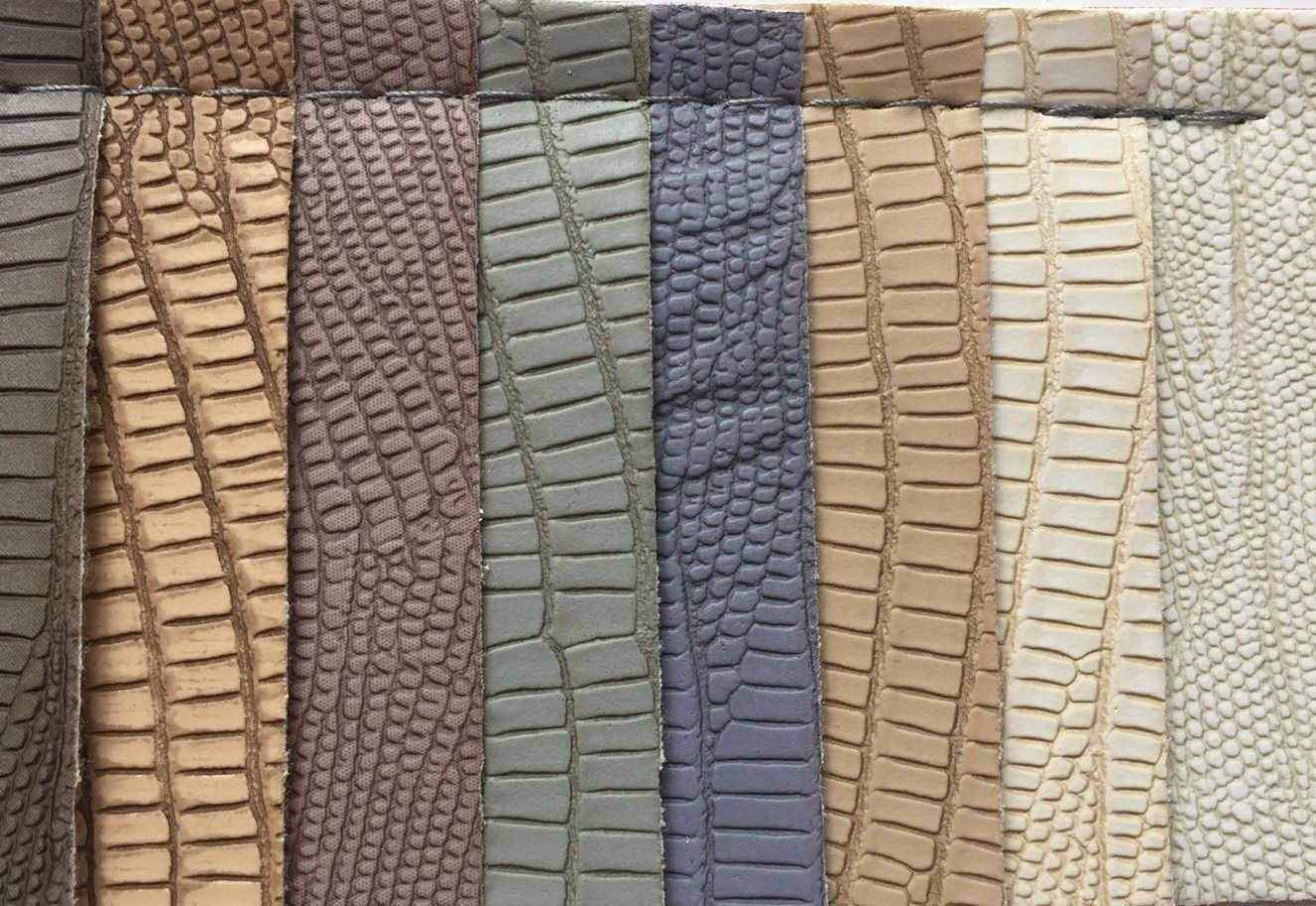 Lizard PVC Leather for Making Bags