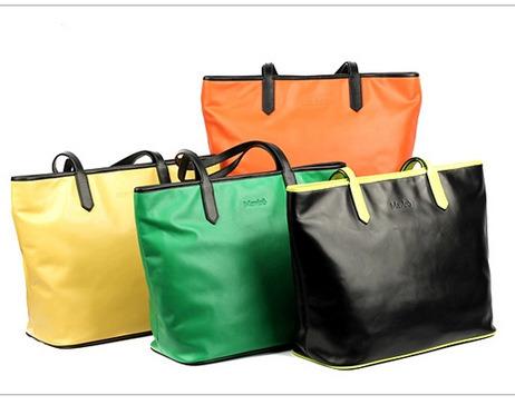Super Fashion Simple Shopper Handbag Tote Bag Shoulder Bag