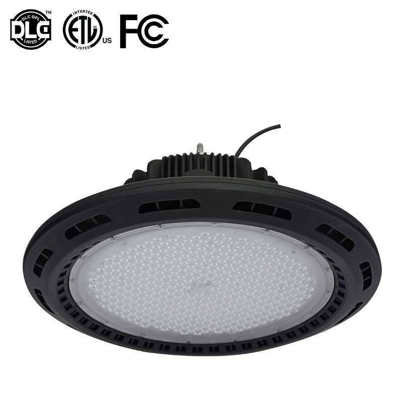 200W UFO LED High Bay Light with ETL FCC Dlc4.1 5 Years Warranty