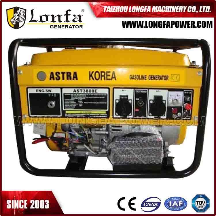 Astra Korea 3700 Portable Gasoline/Petrol Power Generator