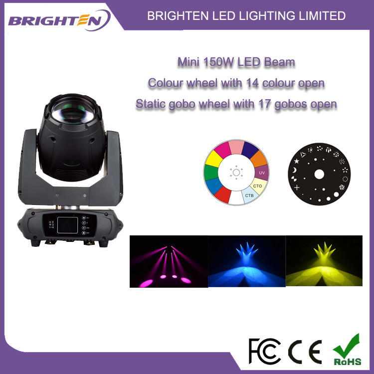 Mini 150W LED Beam Moving Head Lights for DJ (BR-150B)