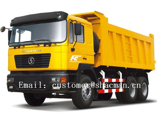 Shacman F2000 6X4 Dump Truck Cummins Engine 385HP