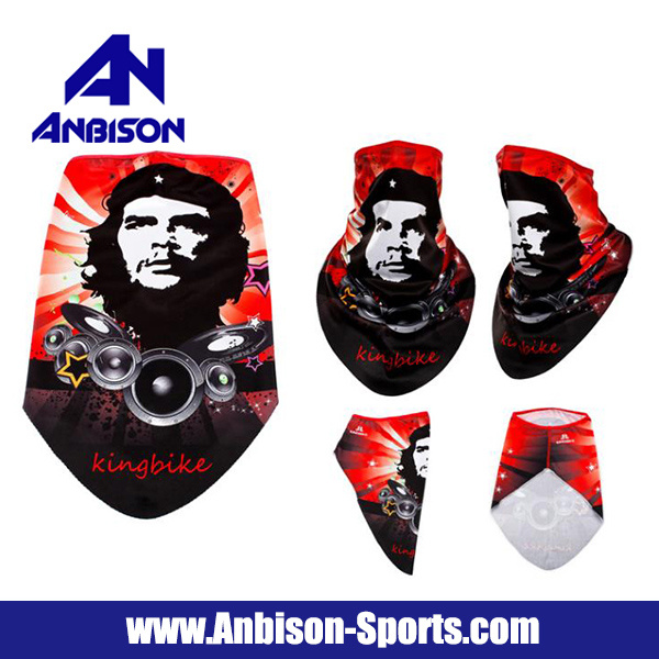 Che Guevara Fans Outdoor Sports Quick-Drying Anti-UV Face Mask