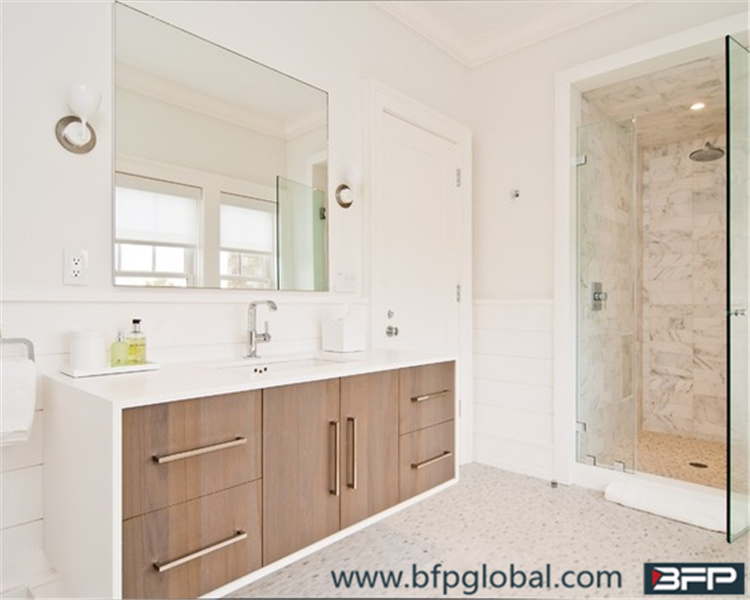 Customized Free Standing Wood Bathroom Storage Cabinet Vanities for Sale