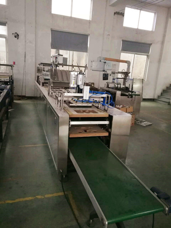 Qb-350 Paper Card Blister Packing Machine