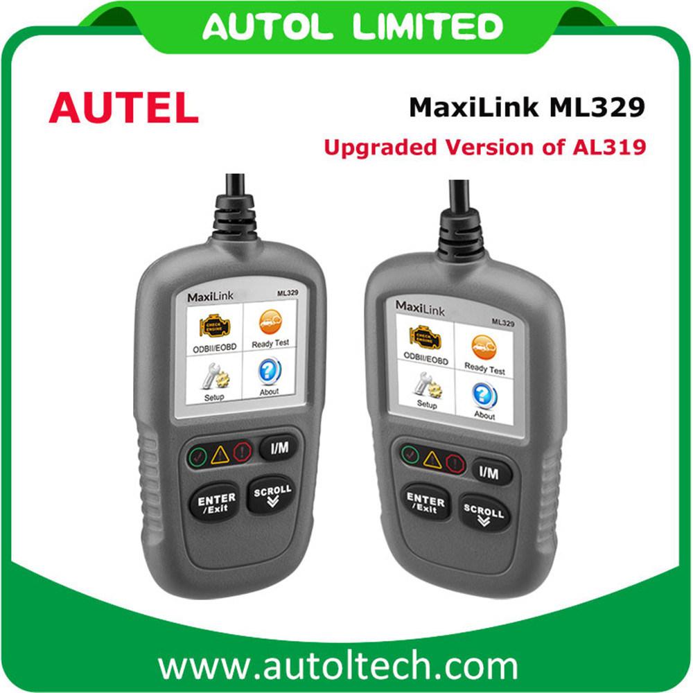 Auto Scan Tool Autel Al319 Car Code Reader Autel Maxilink Ml329