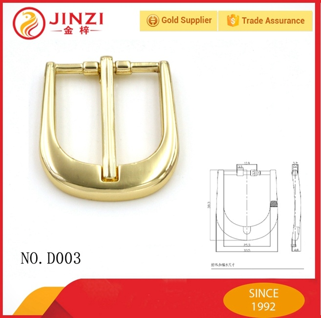Jinzi Bag Accessories Custom Metal Pin Belt Buckles