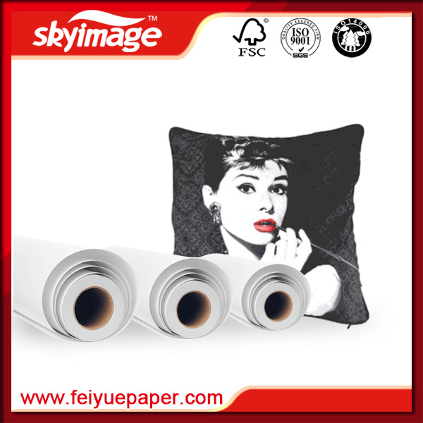 70GSM Fast Dry Anti-Curl Subllimation Transfer Paper for Digital Printing