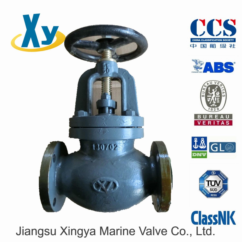 Cast Iron Marine Globe Valve JIS F7305 F7353 5k