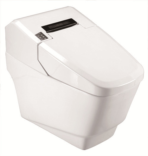 Automatic Bathroom Smart Ceramic Intelligent Toilet (YZ-98A)