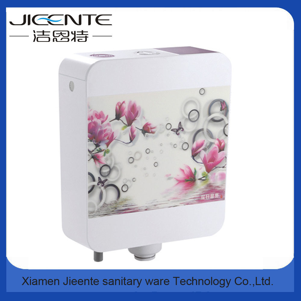 Jet-106B Sanitary Ware Custom Printing Plastic Toilet Flush Tank