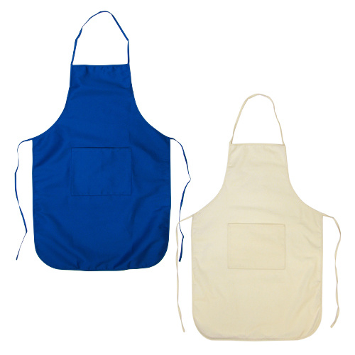 Adjustable Kitchen Apron with 2 Front Pockets