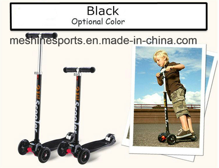 Hight Adjustment Aluminium Practical Three Wheel Maxi Foot Kick Scooter