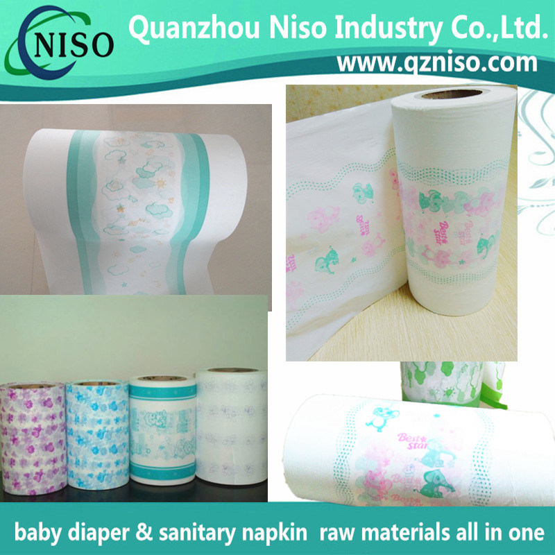 Soft Diaper Backsheet Film for Baby Diaper Raw Materials