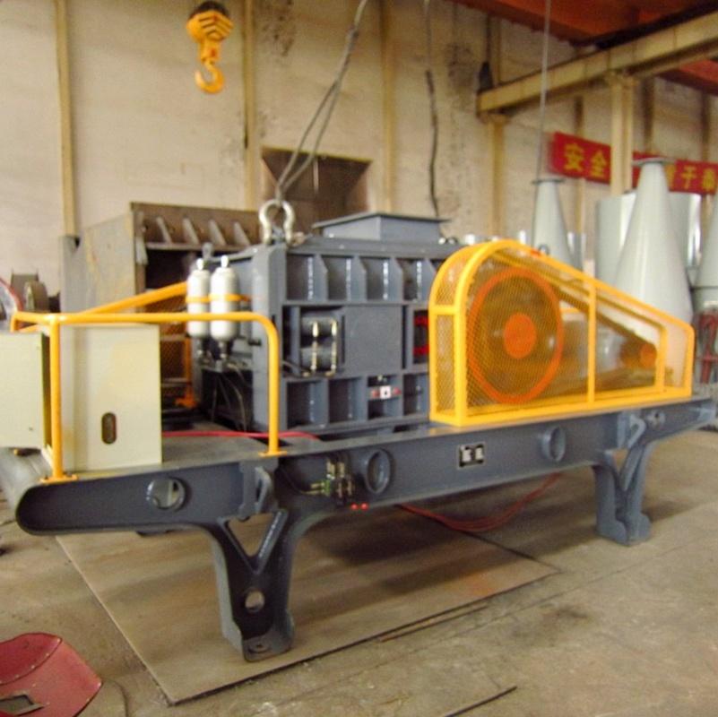 3-5thp Stone Crusher Plant Hydraulic Roller Crusher/ Crushing Equipment Machine
