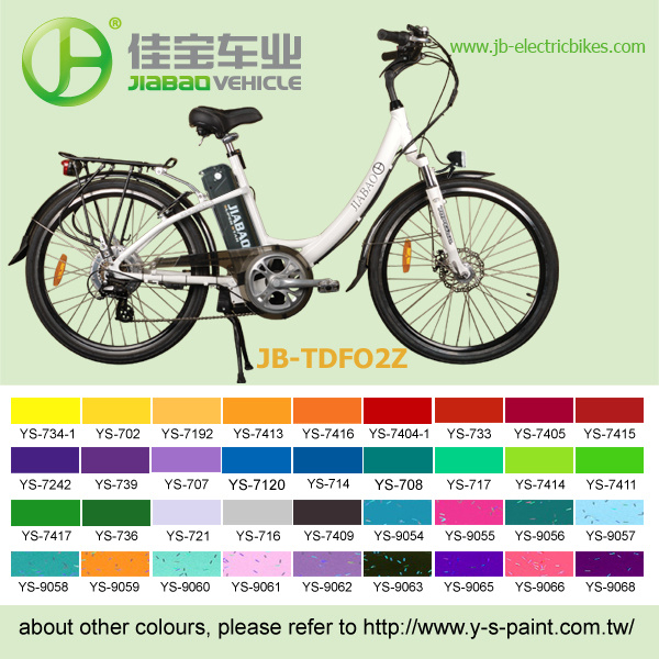 2014 New City Lady E Bike, E-Bike, E Bikes (TDF02Z)