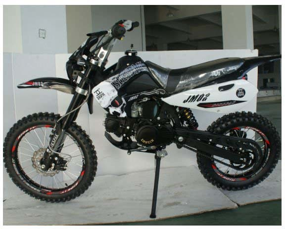 dirt bike 110cc with electric