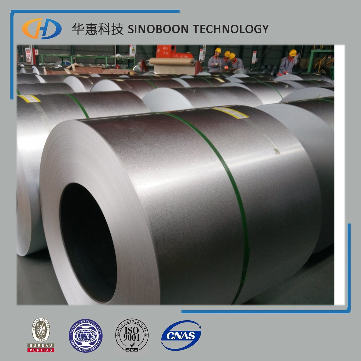 55%Al Gl Steel Coil with High Quality