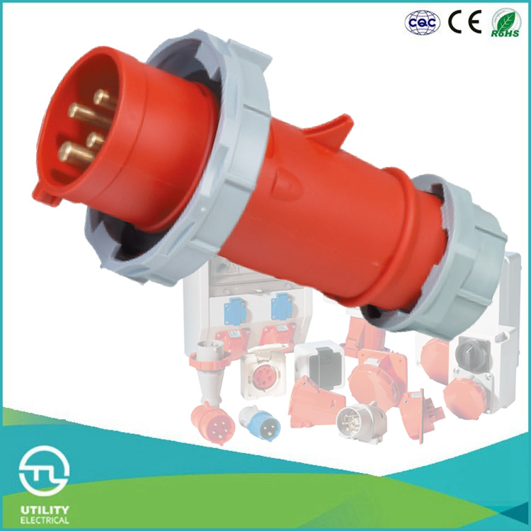IP67 Industrial Plug & Socket Waterproofing Connector