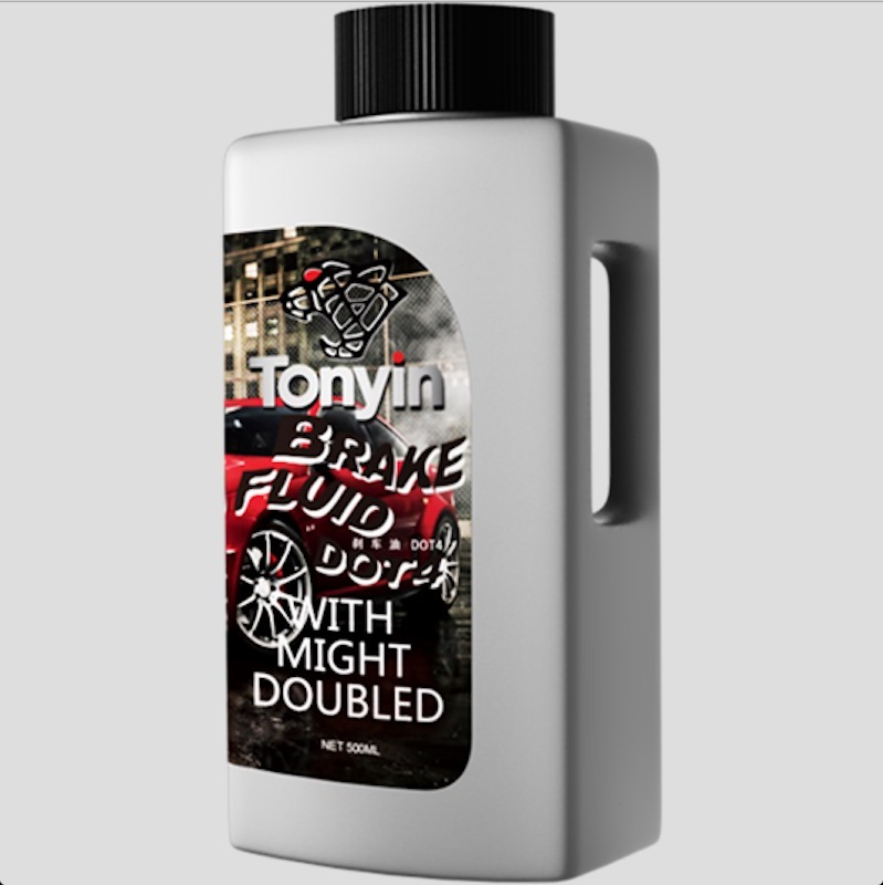 Hot Sales Brake Fluid DOT3/DOT-4 with Good Quality