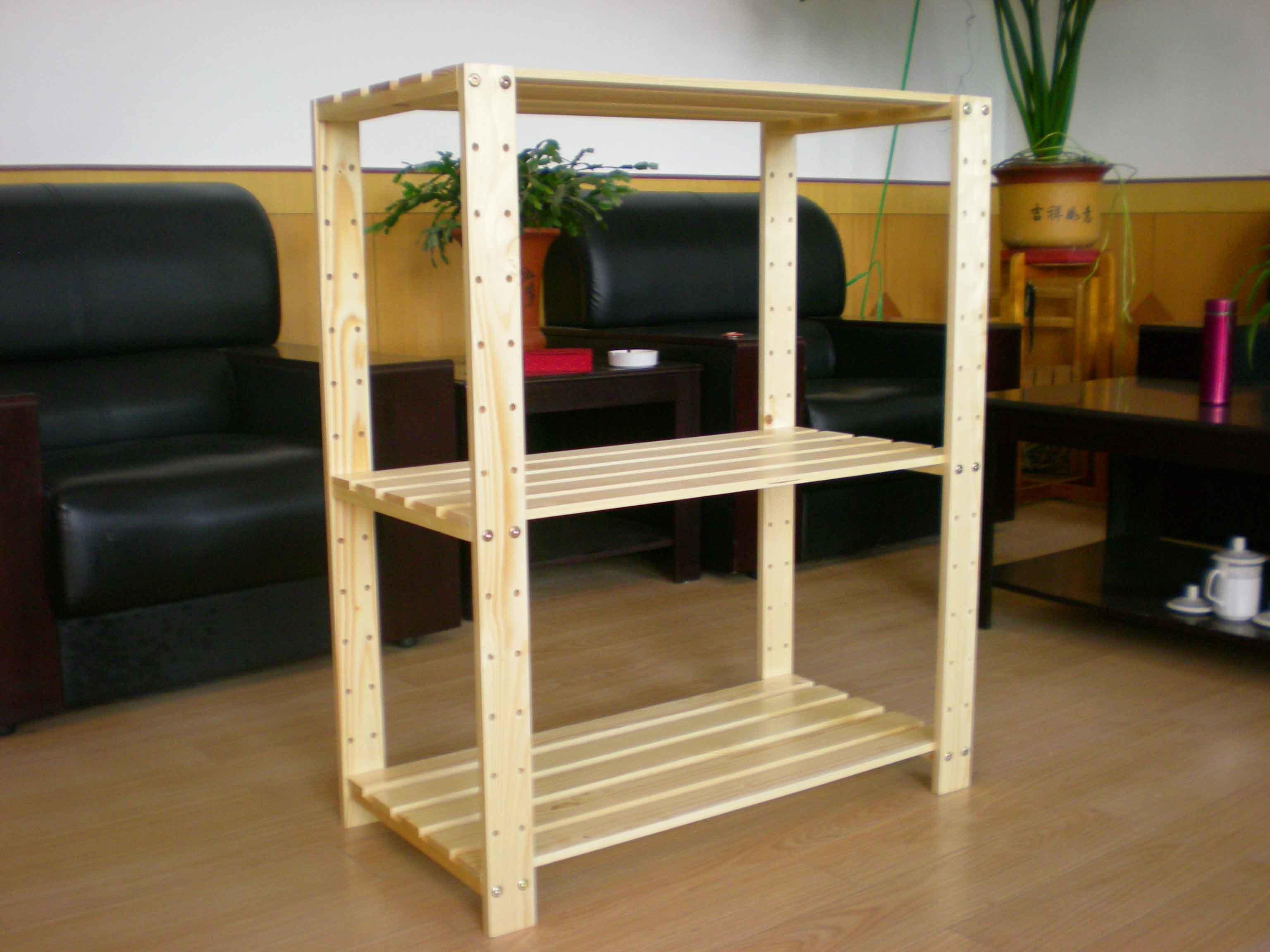 de madeira da prateleira dos bens –Prateleira forte da prateleira de  #6A431A 3072x2304