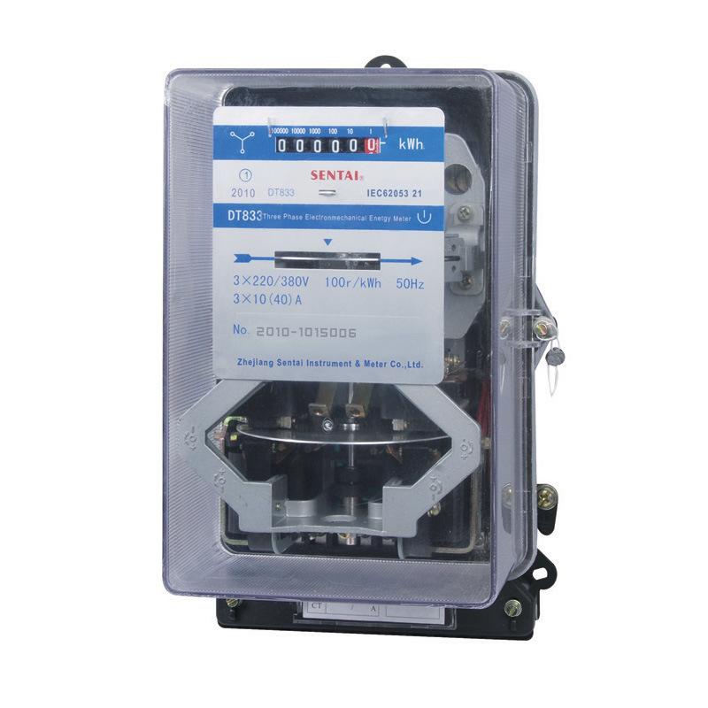 3 Phase Energy Meter : China three phase long life electromechanical energy meter