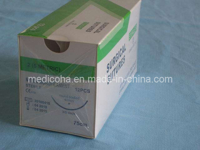 Surgical Suture - Nylon Monofilament (2#--6 / 0)