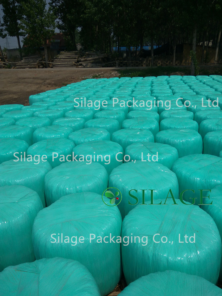 Black/Green/White/Pink 750, 500 Silage Stretch Film with International Standard for Different Baler