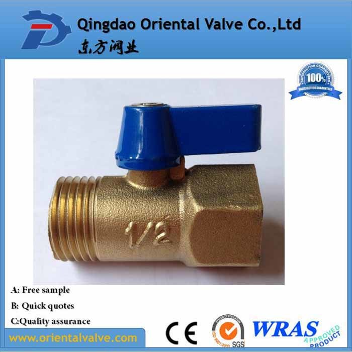 Low Price Hand Operated Thread Mini Brass Ball Valve