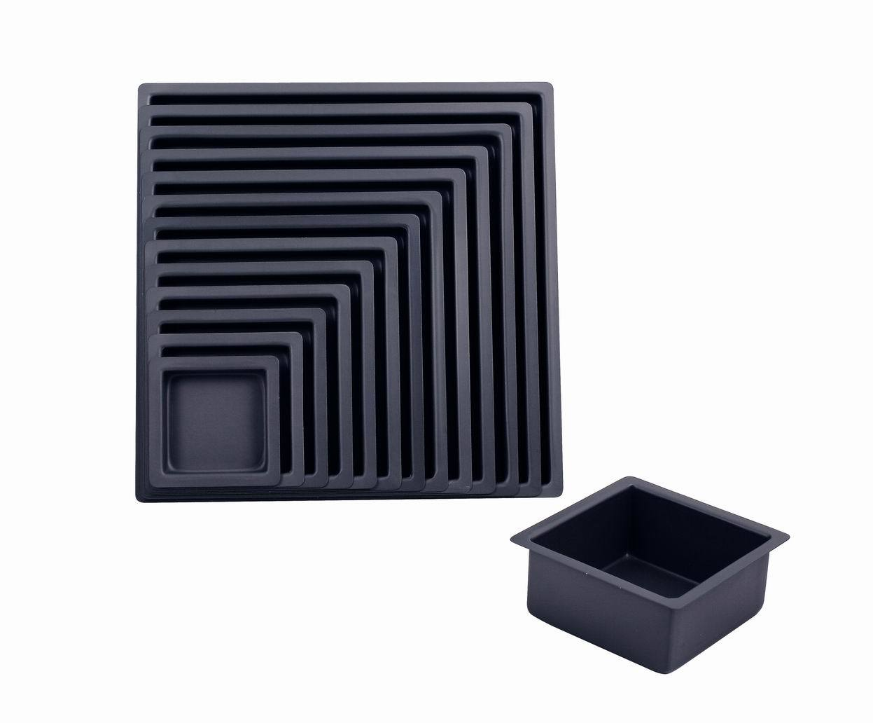 Bakeware Aluminum Hard Anodized Square Cake Pan (MY2244H-MY2256H)