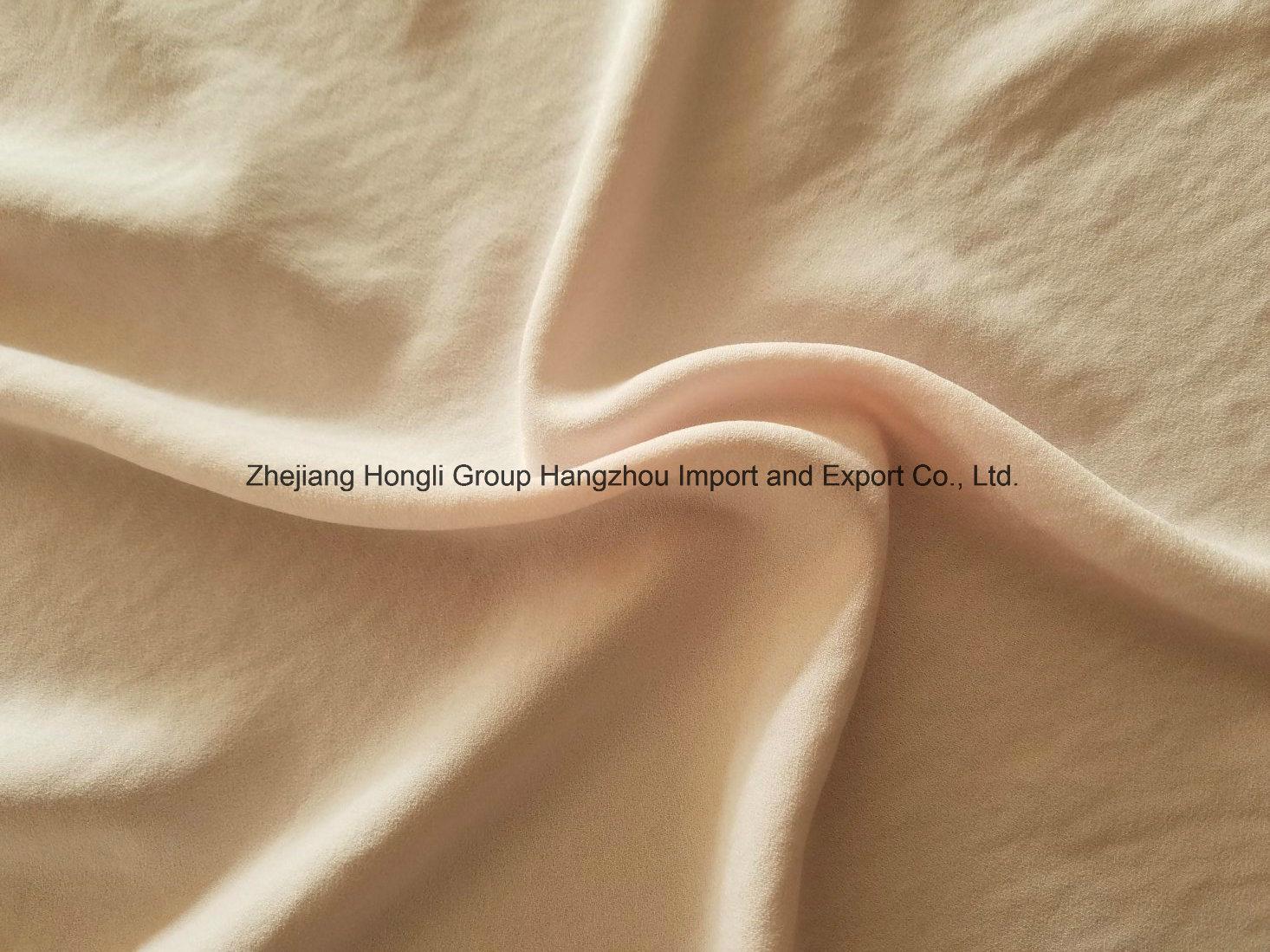 High Twist Moss Crepe Washed Velvet