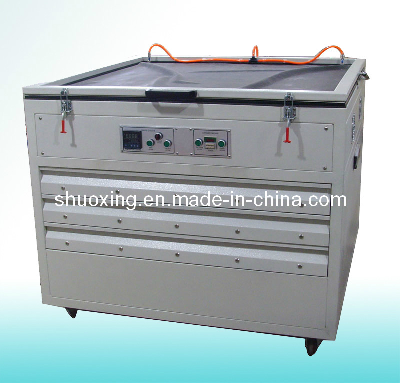 Exposure Machine with Screen Drying Cabinets