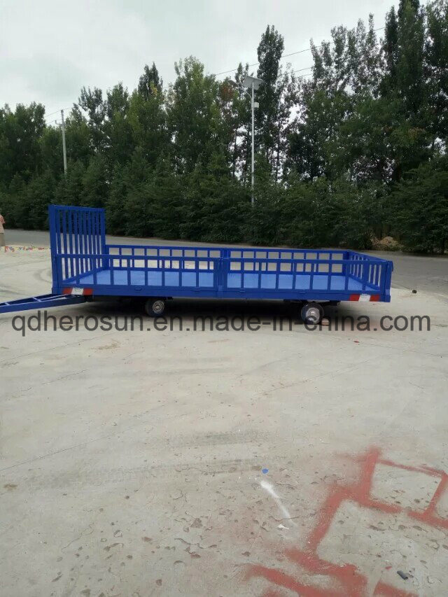 5 Tons High Railing Platform Trailer