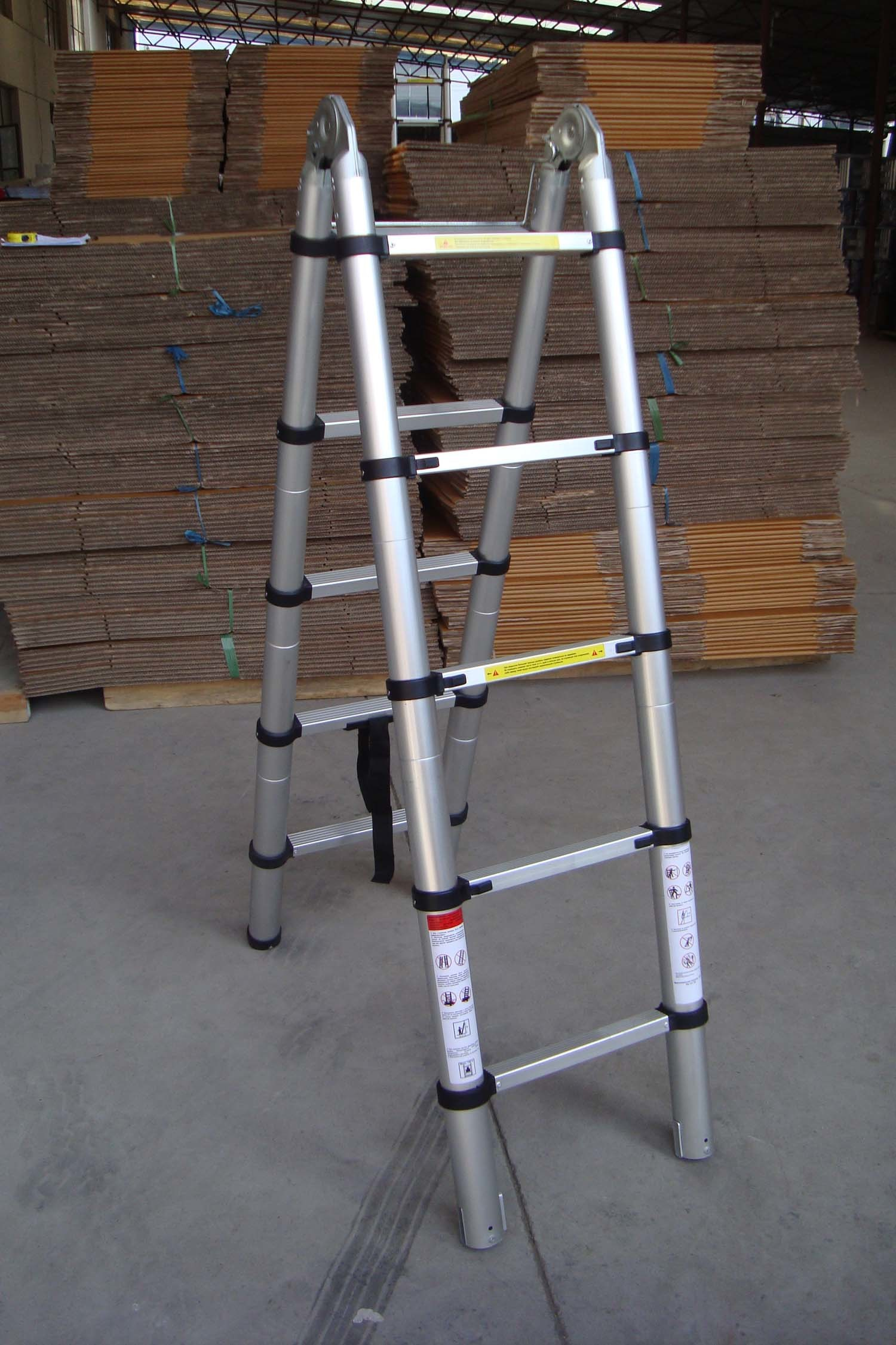Double Telescopic Ladder (2.6M)