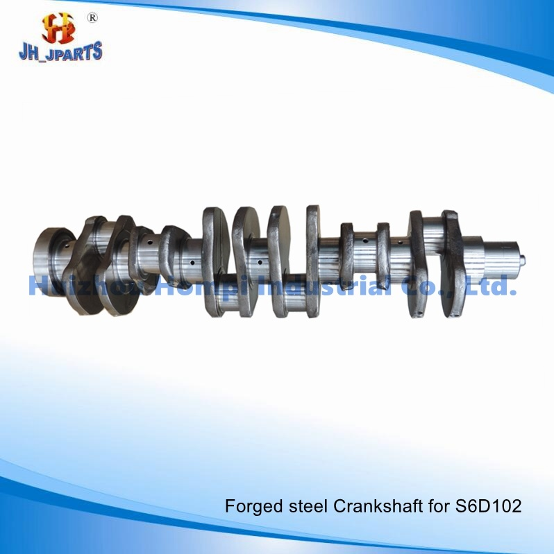 Forged Steel Crankshaft for Komatsu S6d102/6D102 S4d102 S4d95 6D95 6D125