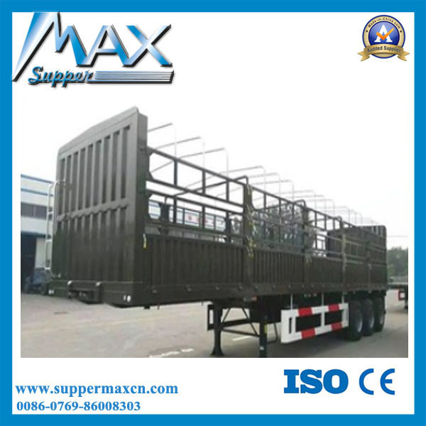 Tri- Axle 40-60 Tons Bulk Cargo Semi Trailer