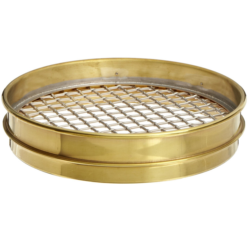 Perforated/Woven Test Sieves for Construction Industries and Research Lab