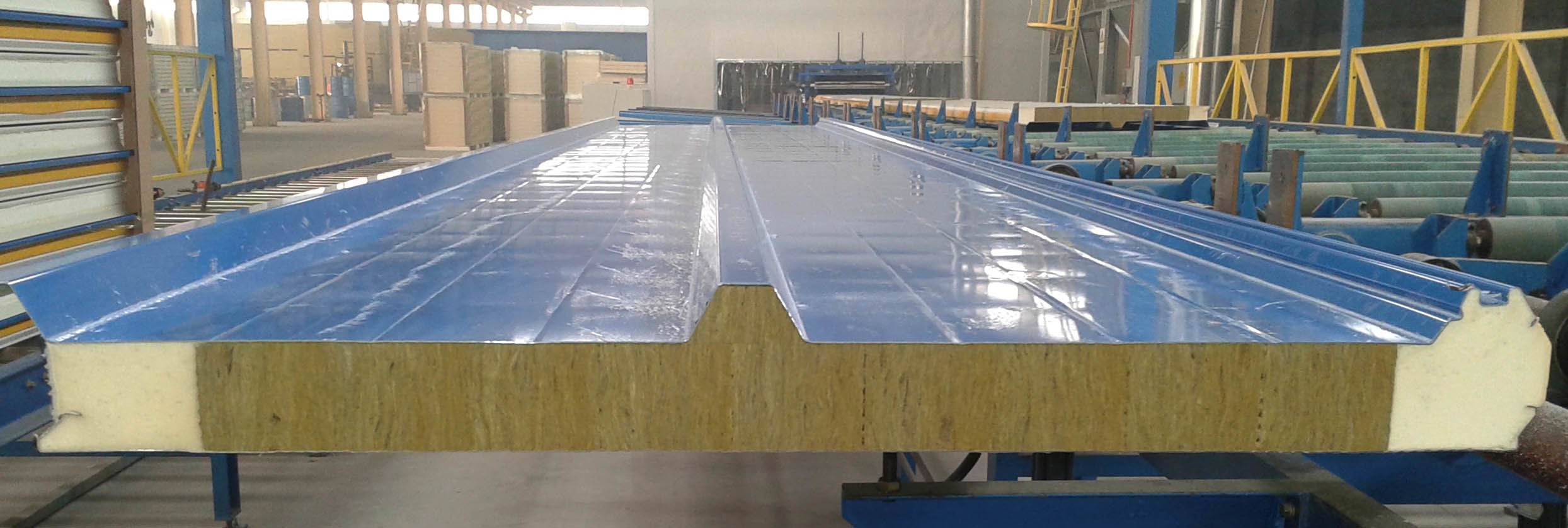 Rock Wool Sandwich Panels for Roof and Wall